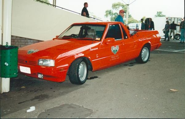 The Brock Ford - Beaut Ute